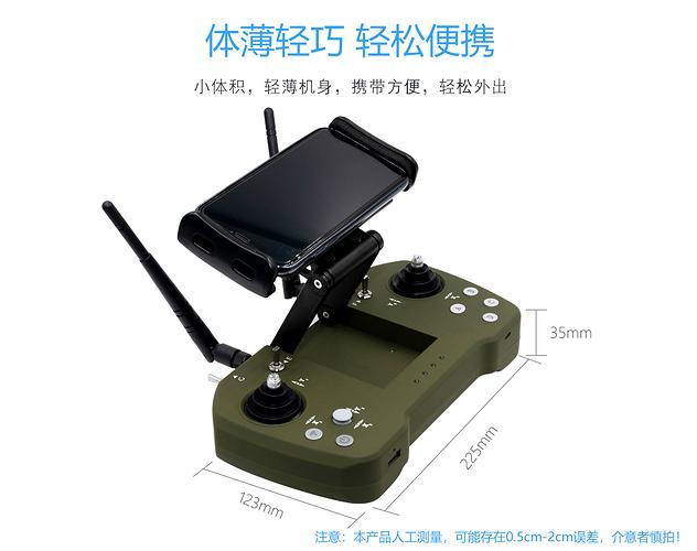 Long range UAV link 100mw for 60KM was designed and tested - Radios