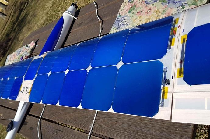 solar cells closeup reduced
