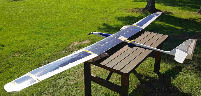 Solar RC plane reduced