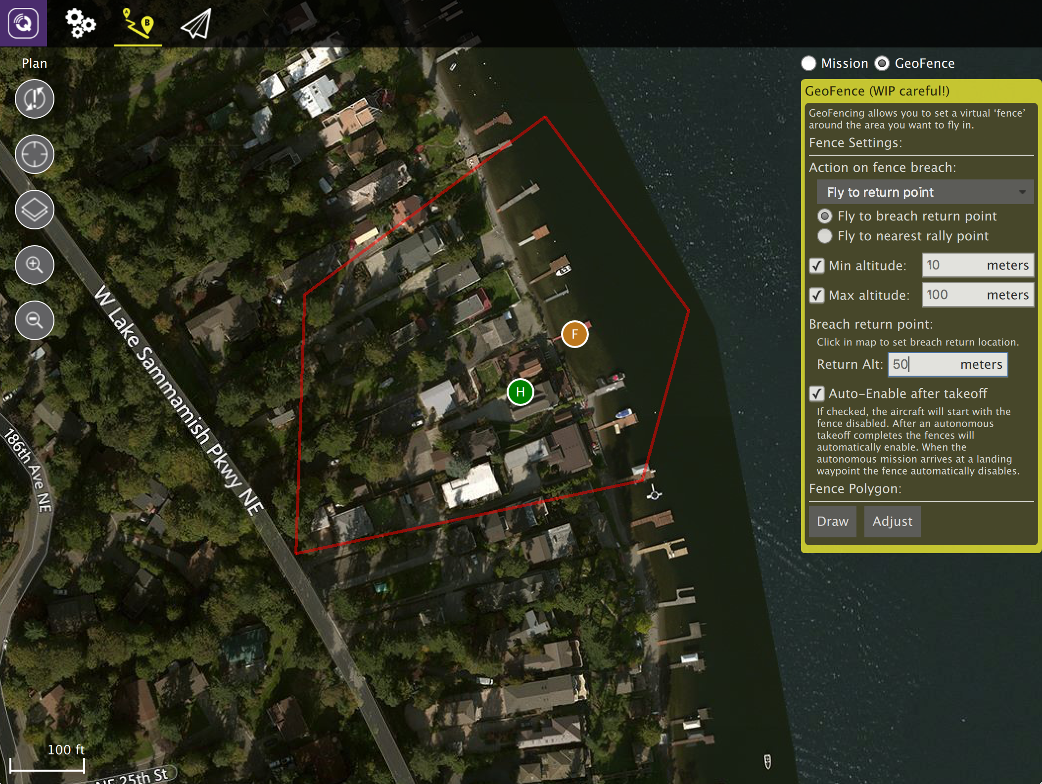 Announcing ArduPlane/Copter GeoFence support in