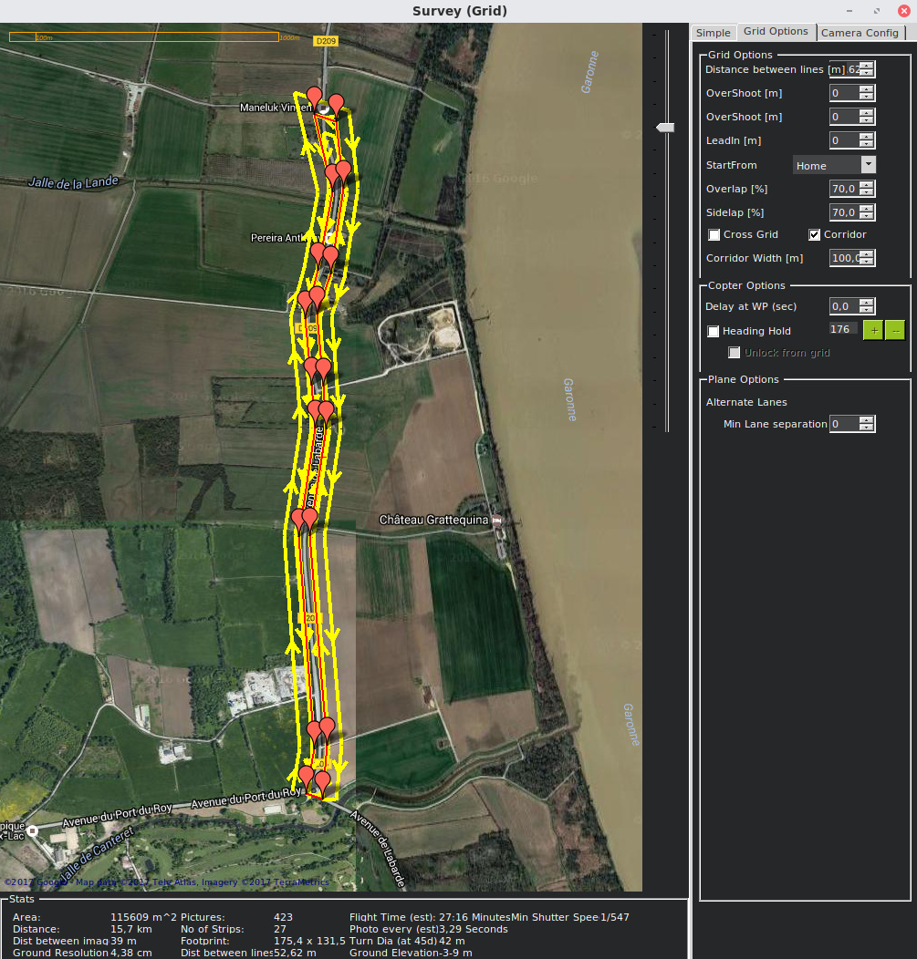 Corridor mapping - QGroundControl - ArduPilot Discourse