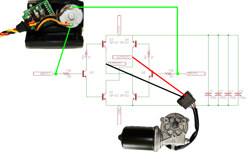 Wiring Driving The L298n H Bridge On 2 To 4 Dc Motors further Control Rc Car Smartphone additionally Arduino And Hc 06 Bluetooth Ex le likewise Wiring further Arduino Bldc Brushless Dc Motor Control. on h bridge circuit diagram