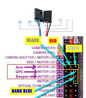 apm 2 6 no output to leds on aux pins multirotors ardupilot rh discuss ardupilot org 24 Volt Electric Scooter Wiring Diagram 2006 Chinese ATV Wiring Diagram