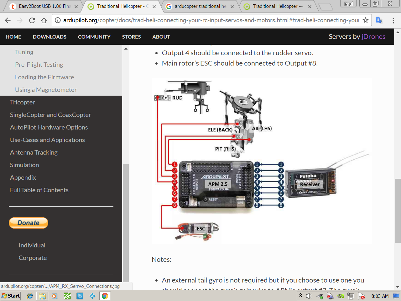 futaba receiver wiring bosch wiring
