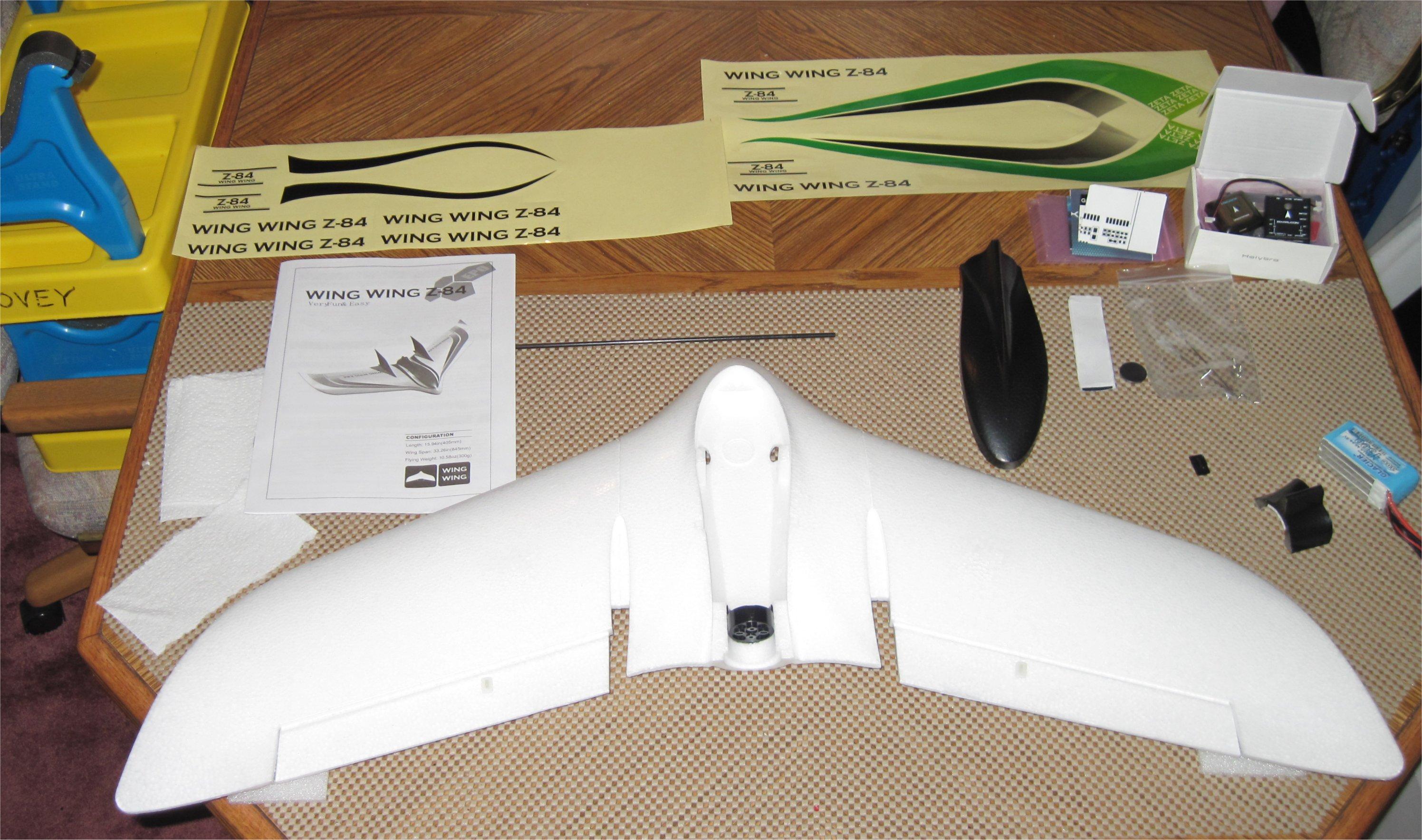 Wing Wing Z 84 Quadplane Conversion Plane 3 8 Ardupilot Discourse
