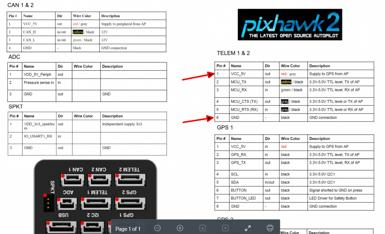 Rfd900  Not Connecting To Pixhawk2 1