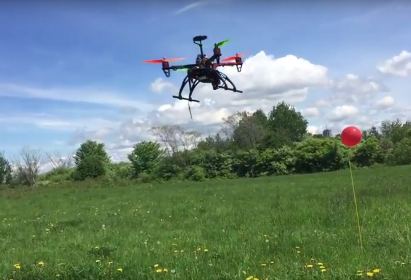 QuadCopter Object Tracking on a budget - OpenMV