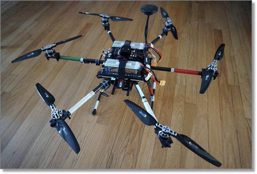 Pixhawk2 1-based hexacopter design documentation - Pixhawk 2