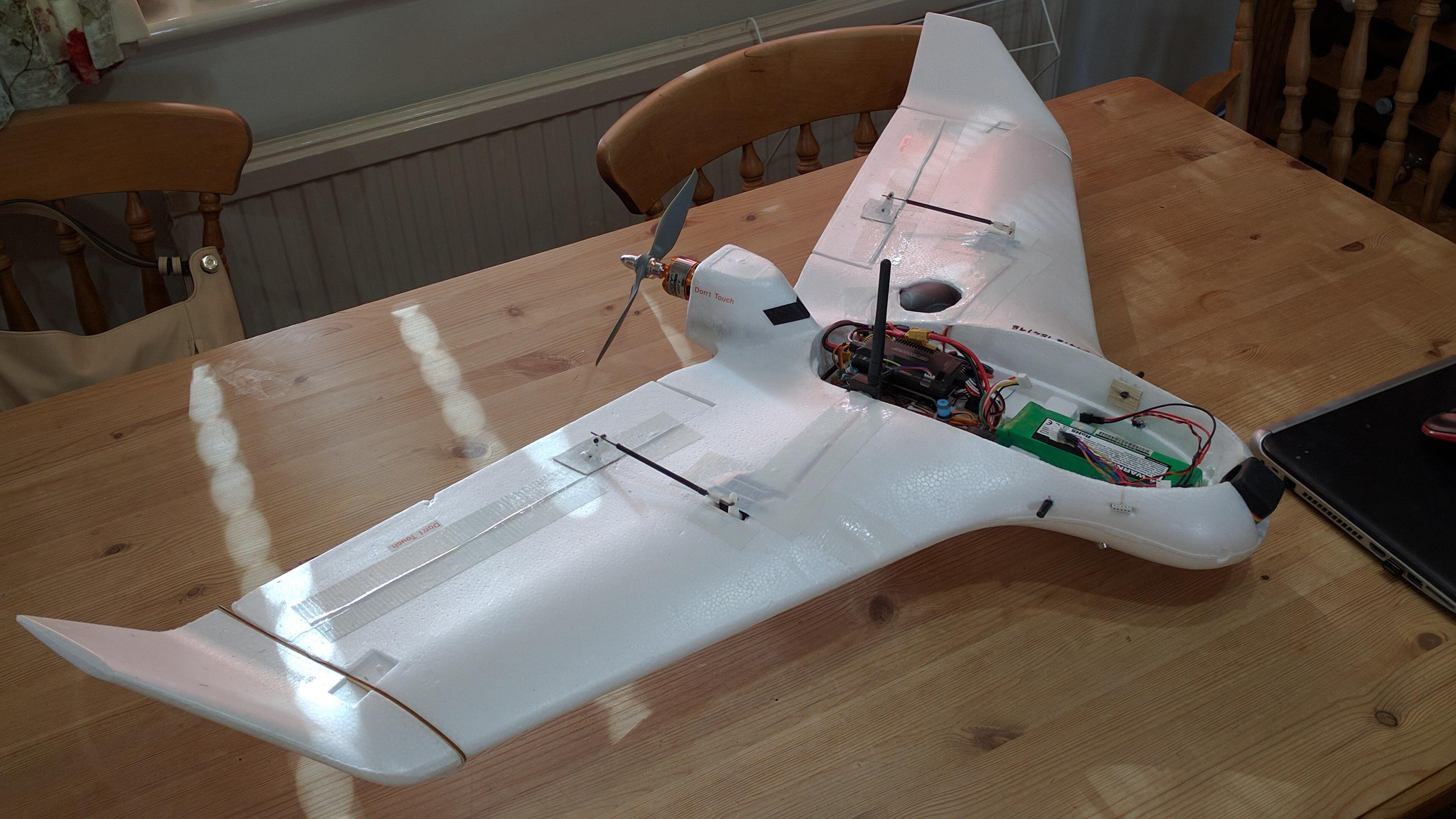 new build skywalker x5 ready for maiden flight with new. Black Bedroom Furniture Sets. Home Design Ideas