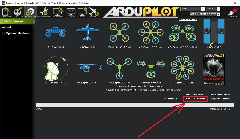 Bootloader restore - Copter 3 6 - ArduPilot Discourse