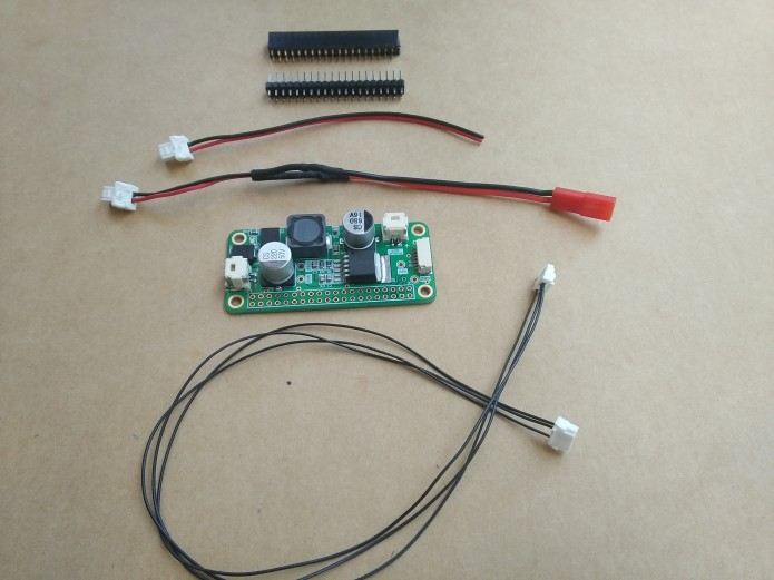 Stable Power Supply 5V-5A for Raspberry Pi on your Drone - Companion