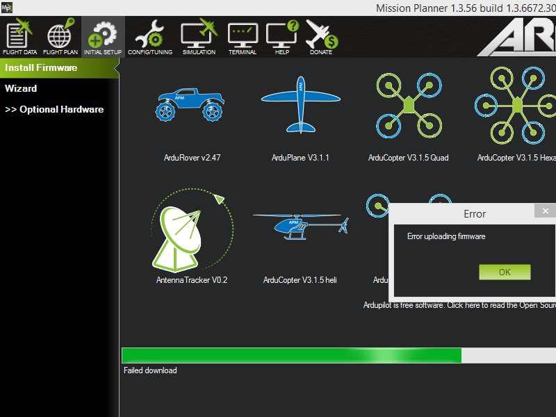 Error in mission planner Linux - Mission Planner - ArduPilot