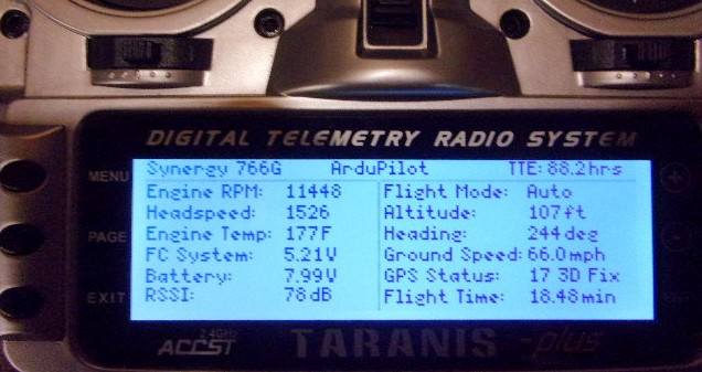 An Open Source Frsky Telemetry Script for the Horus X10,X12