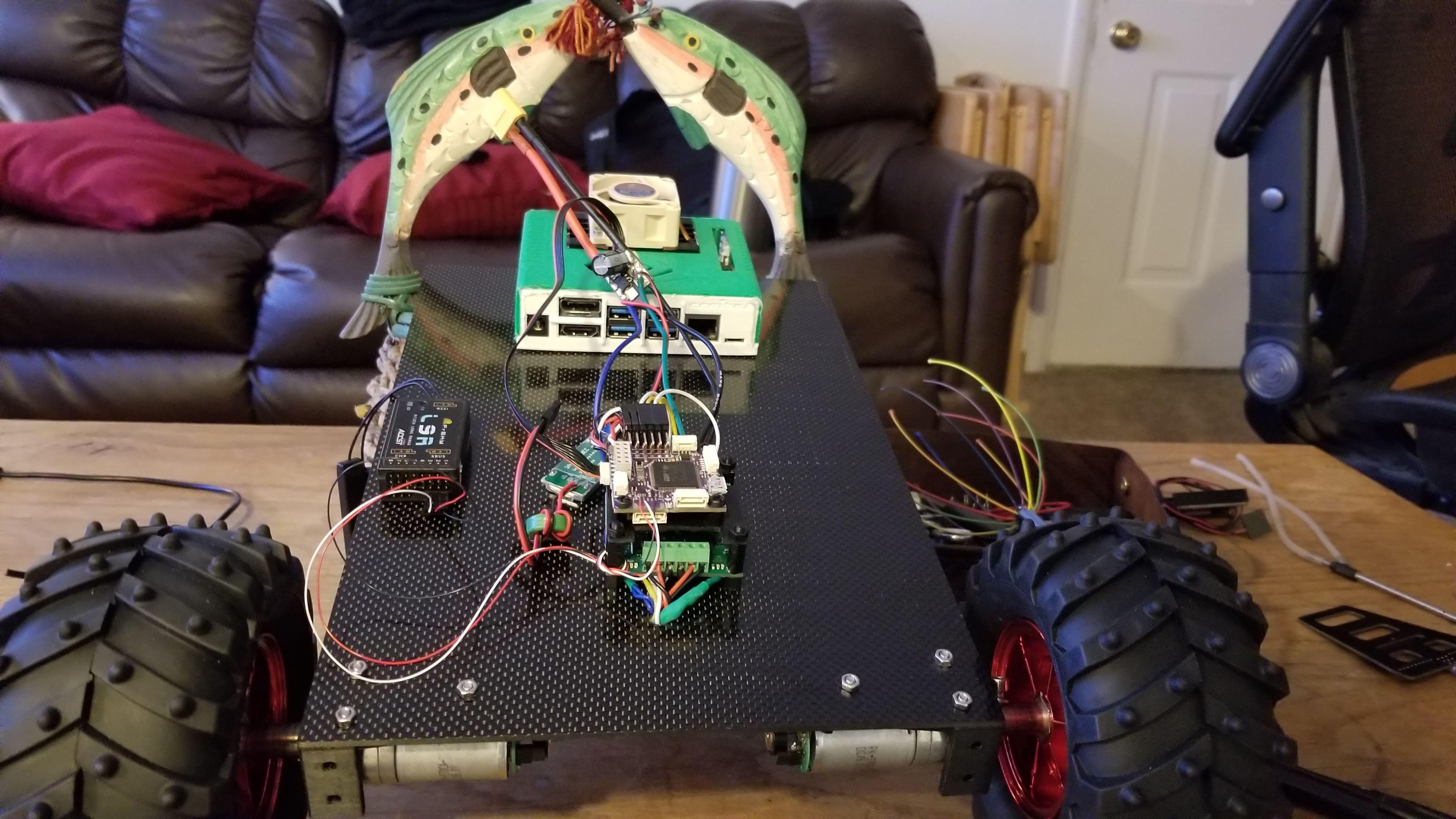 Controlador de motor de doble Pololu Trex Jr DMC02