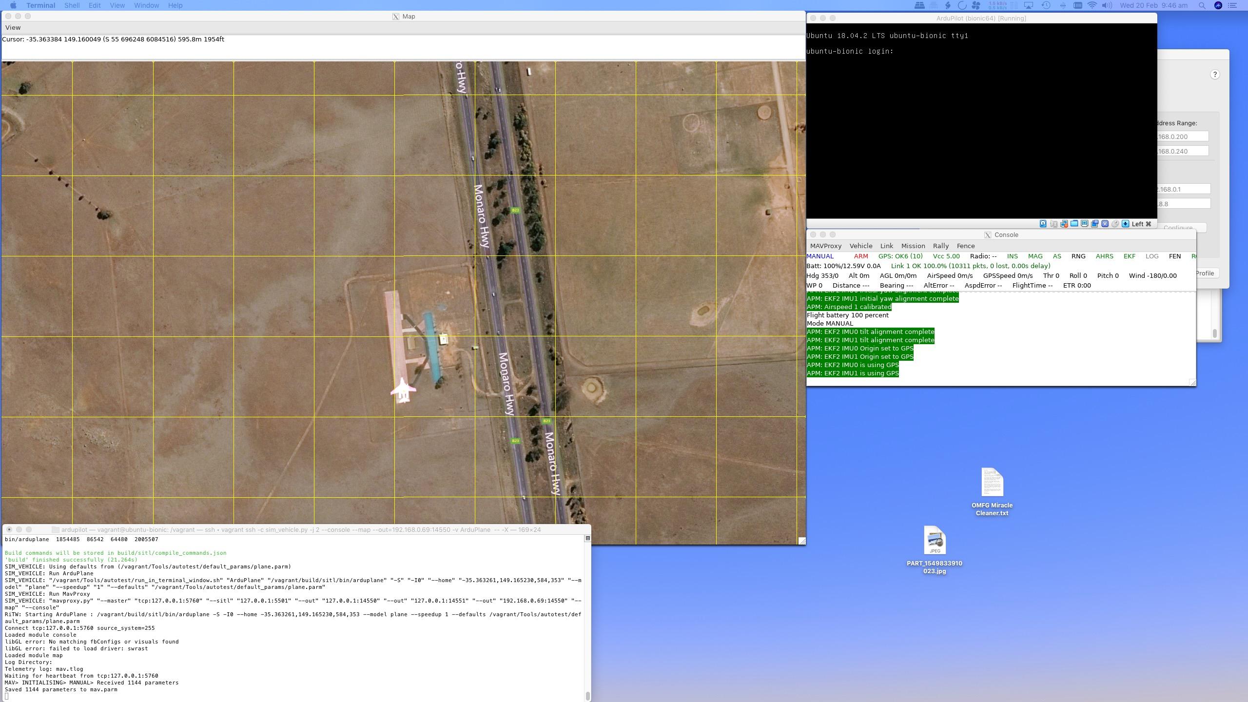 Tutorial for running SITL Simulator on MacOS with Vagrant + XQuartz