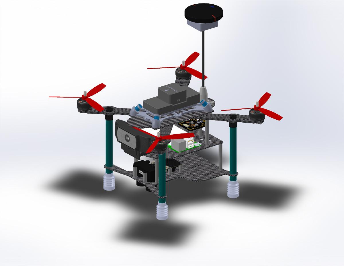 GSoC 2018: Complex Autonomous Tasks Onboard a UAV using a