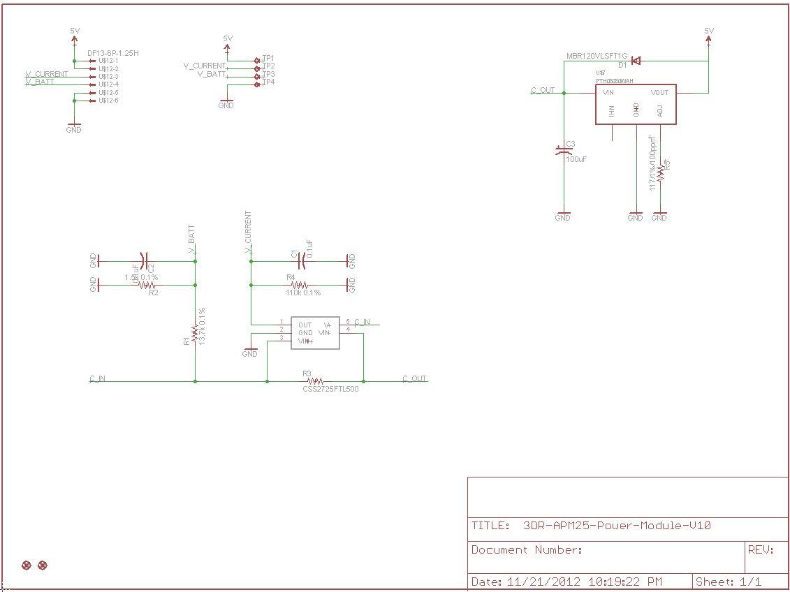 Power Module Schematic - Wiring Diagram Img