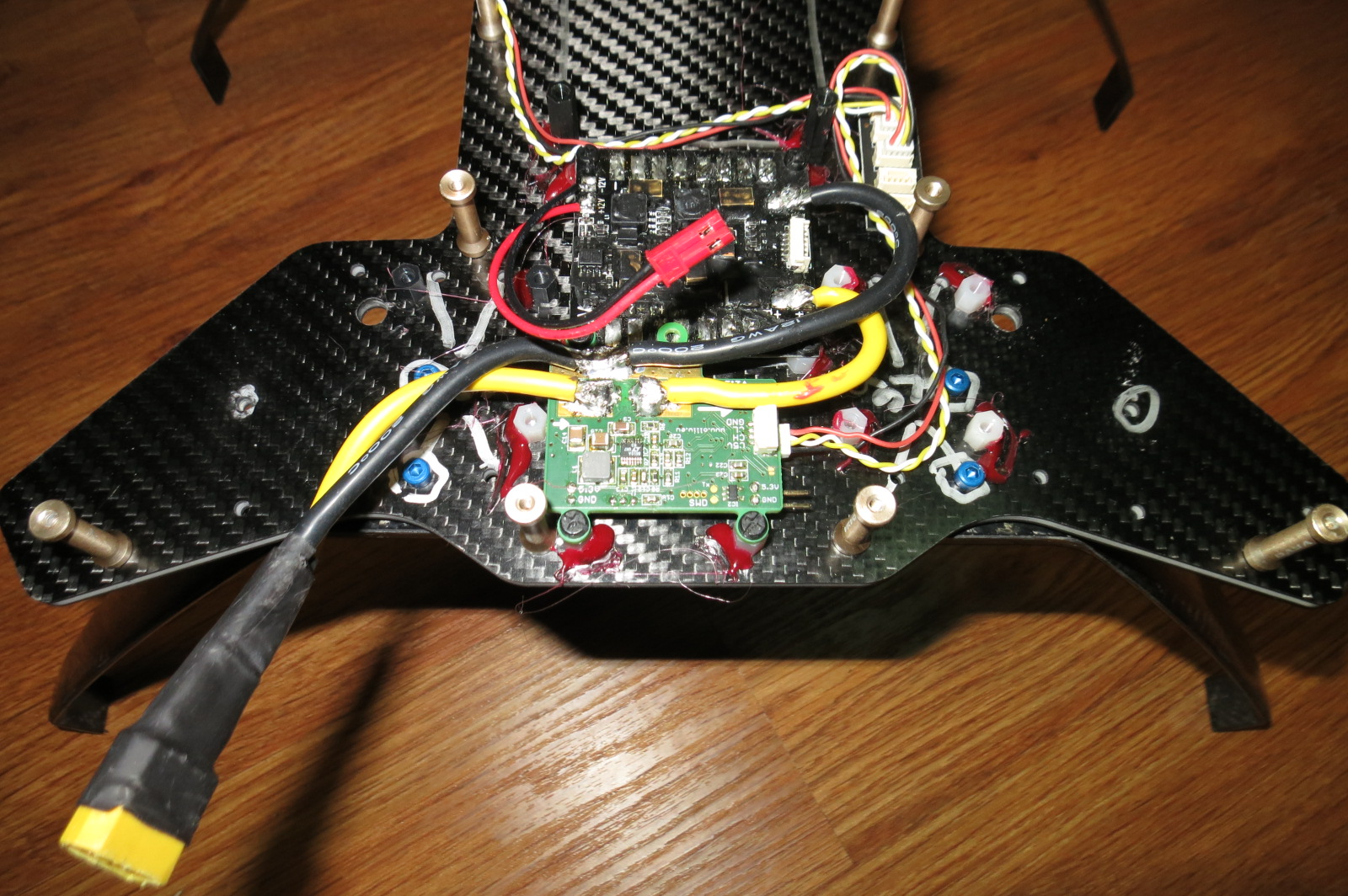 CANbus Quadcopter using UC4H : Son of FrankenSolo - Blog